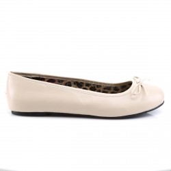 Bailarinas zapatos bajos de ballet en polipiel tallas grandes 40 a 48