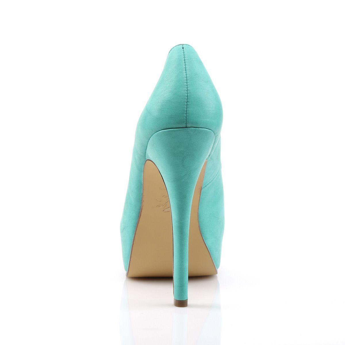 6b63e61d Elegantes zapatos Pin Up con plataforma y puntera abierta con calados