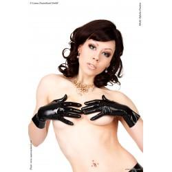 Guantes de látex hasta las muñecas 25cm