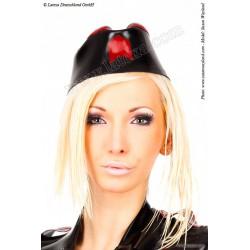 Sombrero estilo militar de látex