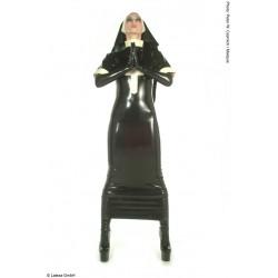 Disfraz de monja de látex