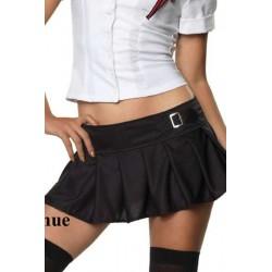 Uniforma de colegiala sexy con camisola y faldita