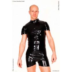 Bodysuit de látex para hombre
