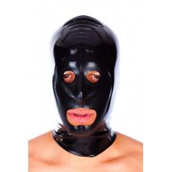 Mascara unisex de látex con aberturas boca y ojos