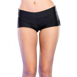 Short de Leg Avenue en satén elástico disponible en 6 colores