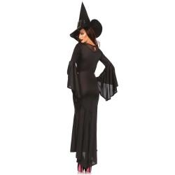 Disfraz sexy Leg Avenue de bruja maléfica compuesto de 2 piezas
