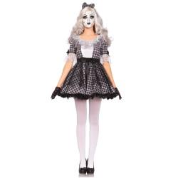 Leg Avenue disfraz sexy y original de muñeca de porcelana en 3 piezas