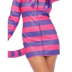 Disfraz Leg Avenue para carnaval de Linda Gatita Cheshire de Alicia