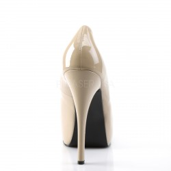 Zapatos Bordello con ligera plataforma ancho especial y tallas grandes
