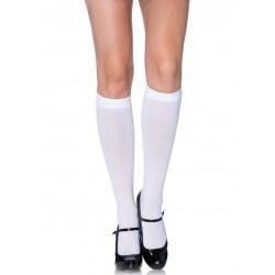 Calcetines ópacos de colegiala hasta la rodilla