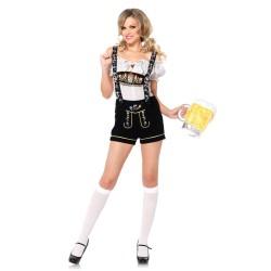 Leg Avenue Disfraz sexy de camarera alemana formado por 2 piezas