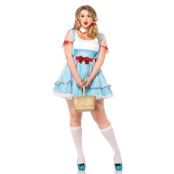 Leg Avenue disfraz sexy Dorothy mago de Oz 2 piezas hasta talla XXXL