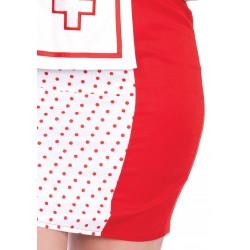 Disfraz sexy Leg Avenue enfermera Betty de 3 piezas hasta talla XXXL