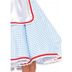 Leg Avenue disfraz sexy de Dorothy del mago de Oz formado por 2 piezas