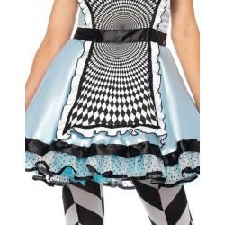 Leg Avenue disfraz sexy para carnaval de Alicia hipnótica de 2 piezas