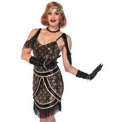 Leg Avenue disfraz sexy para carnaval de Charleston años 20