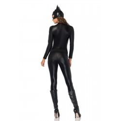 Leg Avenue disfraz de carnaval de Gata salvaje Heroina de Comic 3 pzs