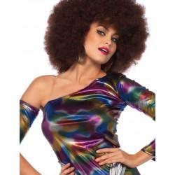 Mini Vestido Leg Avenue de Chica Disco Fiebre Años 70 también Carnaval
