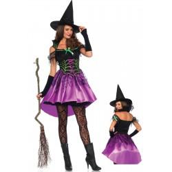 Disfraz de Halloween Bruja Telaraña Leg Avenue también para Carnaval