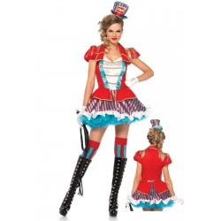 Leg Avenue disfraz sexy de presentadora circense de 2 piezas