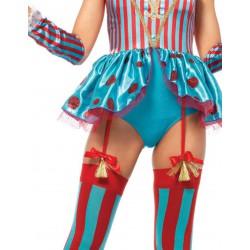 Disfraz Sexy Leg Avenue Payaso del Circo de 4 piezas
