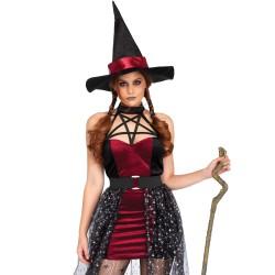 Disfraz lujoso de Leg Avenue para Halloween de bruja celestial de 3 pcs