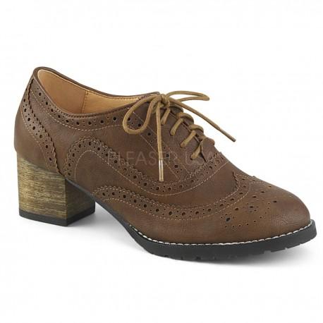 1499366299 Zapatos para mujer colección Pin Up de diseño masculino estilo Oxford