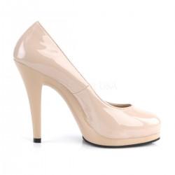 Zapatos clásicos Pleaser Flair-480 de plataforma charol talla 35 a 48