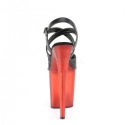 Sandalias extra altas FLAMINGO-822T para Pole dance con tiras cruzadas