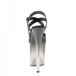 Sandalias extra altas FLAMINGO-822T para Pole dance con efecto degradado