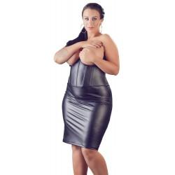 Vestido ajustado sin tirante con pechos al descubierto hasta la talla 4XL