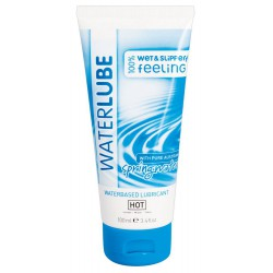 "Lubricante 100 ml a base de agua manantial alpino ""HOT Water Lube"""